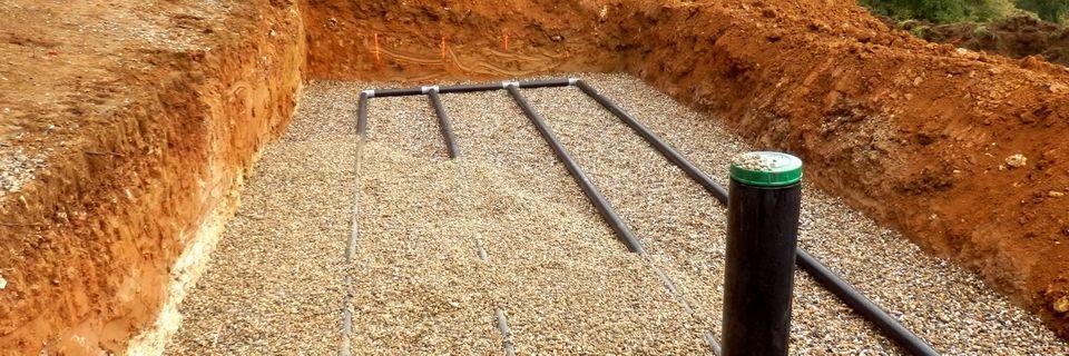 Voorbeeld drainagesysteem