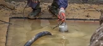 Grondwater in de kruipruimte zorgt voor veel overlast
