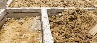 Bodem kruipruimte is gewone grond: vochtdoorlatend en niet isoleren