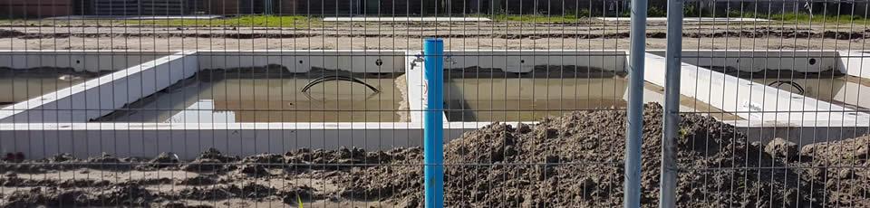Bodem van kruipruimte bestaat doorgaans uit vochtige grond